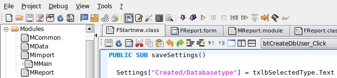 Gambas 2 draait in Ubuntu
